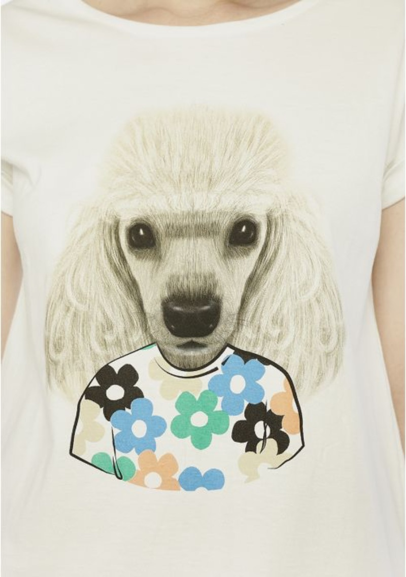 t-shirt-barboncino-fantasia-fiori