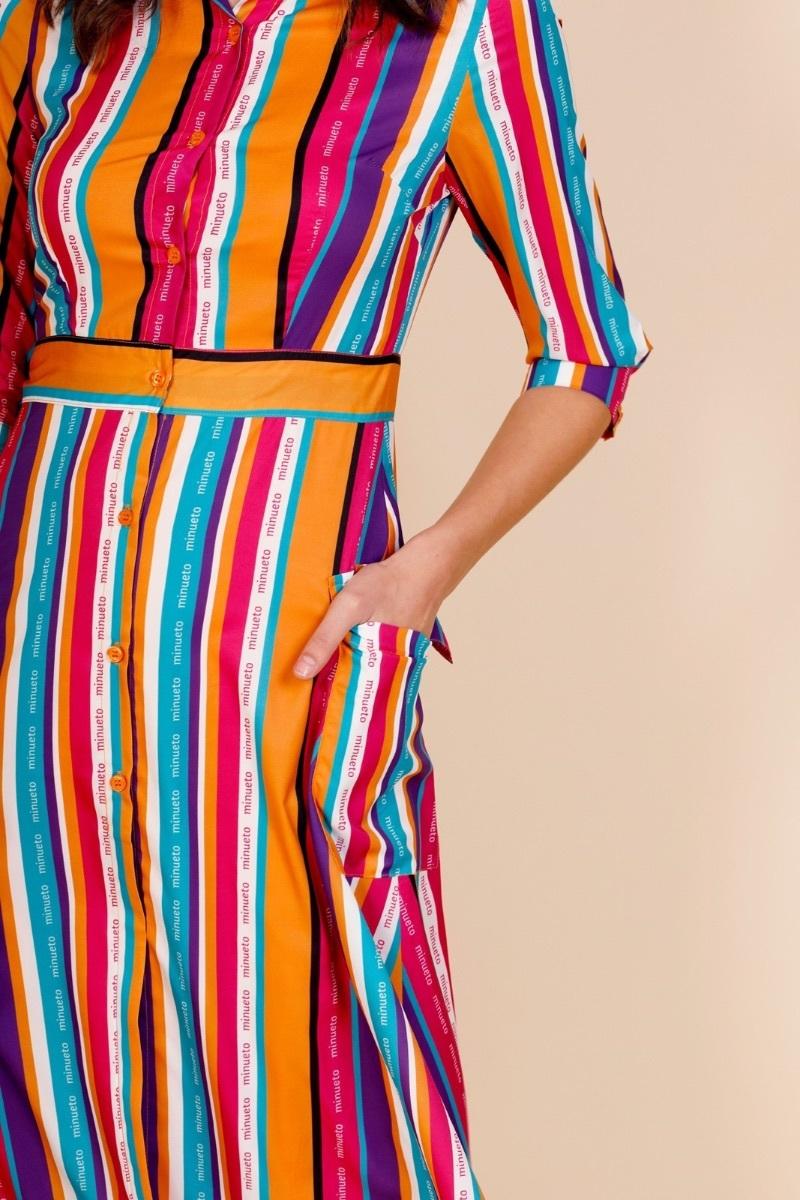 abito-lungo-a-righe-colorate