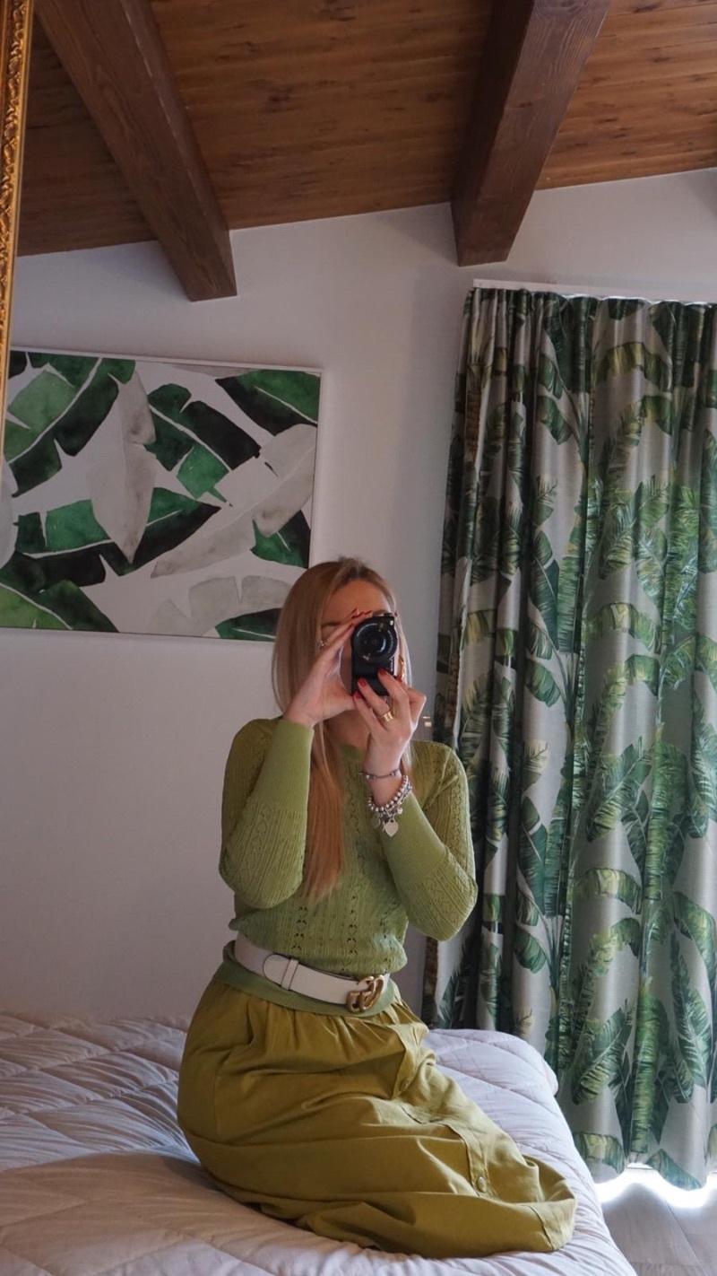 maglia-puntinata-verde